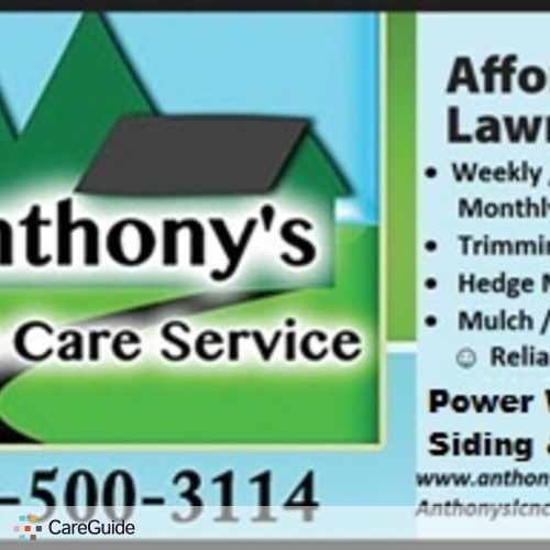 Landscaper Provider Anthony G's Profile Picture