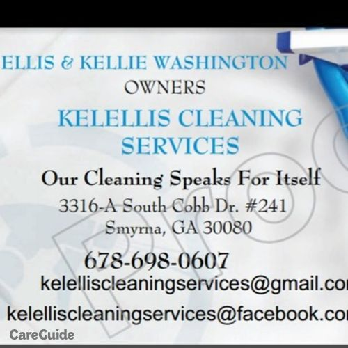 Housekeeper Provider Kelellis Cleaning Services Kellie Washinton's Profile Picture