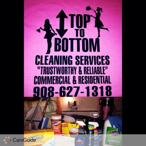 Housekeeper Provider Top to Bottom Cleaning Services's Profile Picture