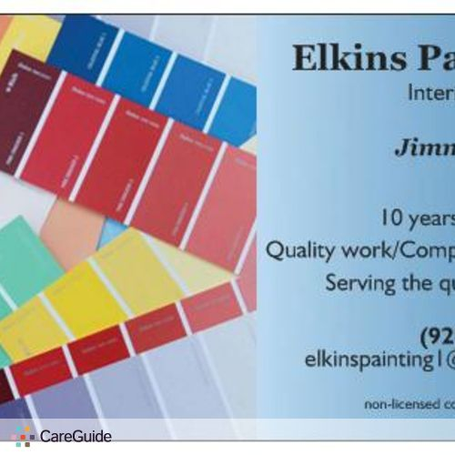 Painter Provider Elkins P's Profile Picture