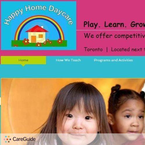 Child Care Provider Happy Home Daycare's Profile Picture