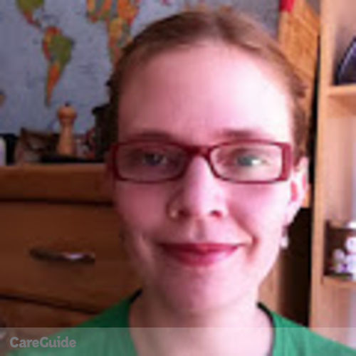 Canadian Nanny Provider Kirsten Thomson's Profile Picture