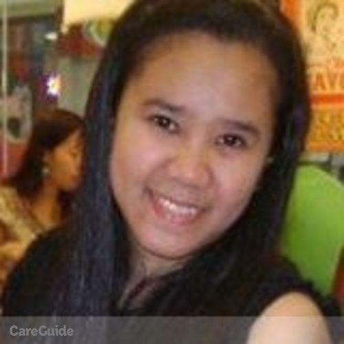 Canadian Nanny Provider Cherrielyn Luna's Profile Picture