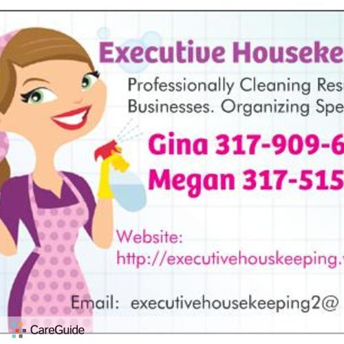Housekeeper Provider Gina 's Profile Picture