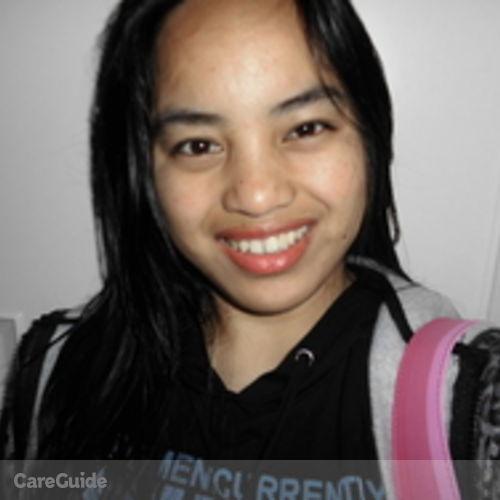 Canadian Nanny Provider Marivic B's Profile Picture
