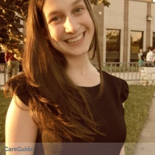 Canadian Nanny Provider Jenna B's Profile Picture