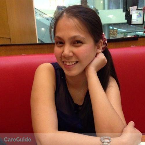 Canadian Nanny Provider Annaliza Lumayog's Profile Picture