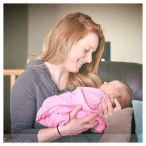 Canadian Nanny Provider Erin 's Profile Picture