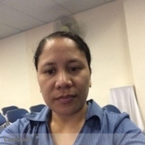 Canadian Nanny Provider Lani Sison's Profile Picture