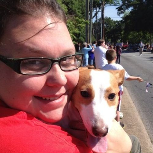 For Hire: Passionate Dog Sitter in Gainesville, Georgia