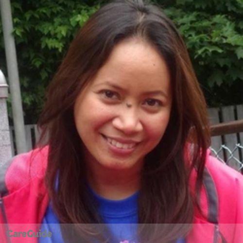 Canadian Nanny Provider Gloria M's Profile Picture