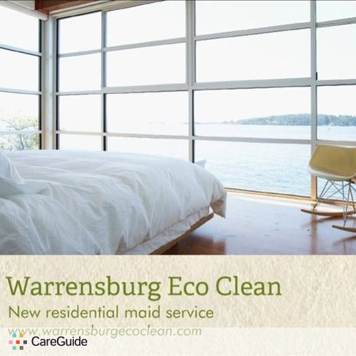 Housekeeper Provider Warrensburg Eco Clean's Profile Picture