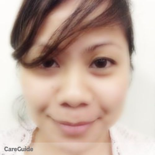 Canadian Nanny Provider Rochelle Abalos's Profile Picture