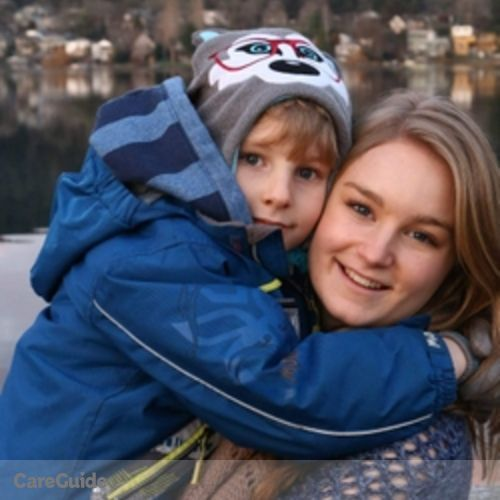 Canadian Nanny Provider Sarah Driver's Profile Picture