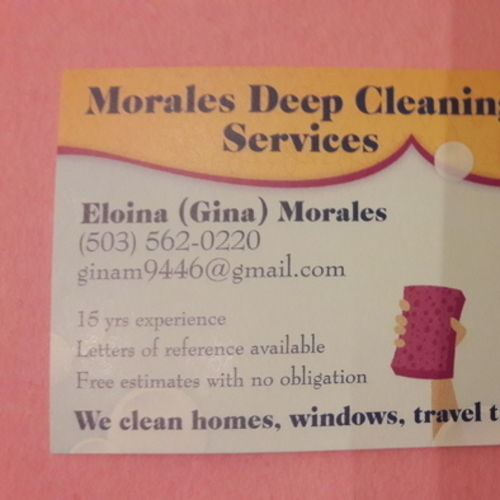 Housekeeper Provider Eloina Morales's Profile Picture