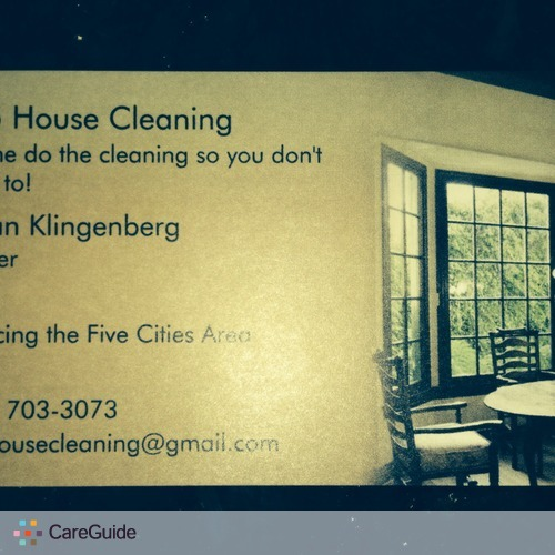 Housekeeper Provider Susan Klingenberg's Profile Picture
