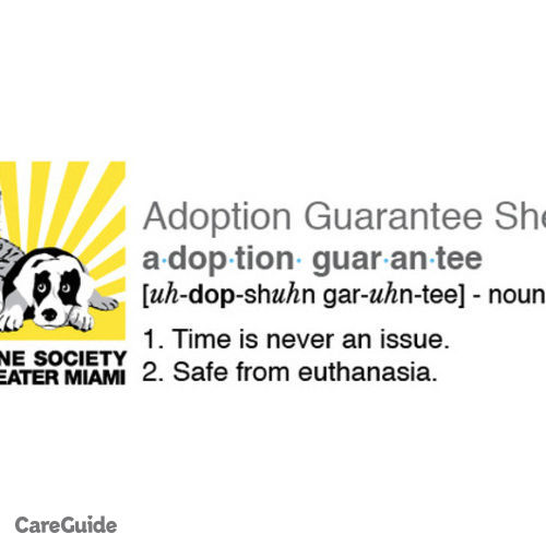 Pet Care Provider Humane Society Greater Miami South's Profile Picture