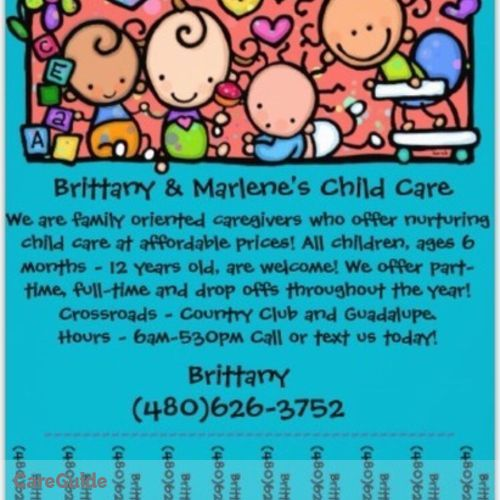 Child Care Provider Brittany Salcido's Profile Picture