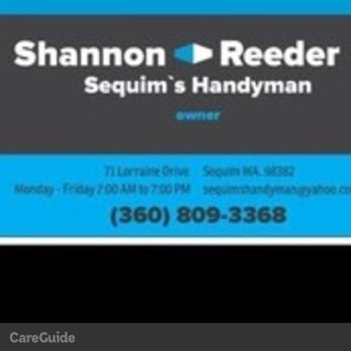 Handyman Provider Shannon Reeder's Profile Picture