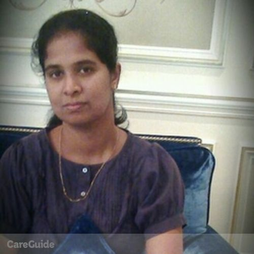 Canadian Nanny Provider Sathya S's Profile Picture