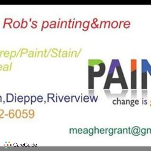 Painter Provider Rob Grant's Profile Picture