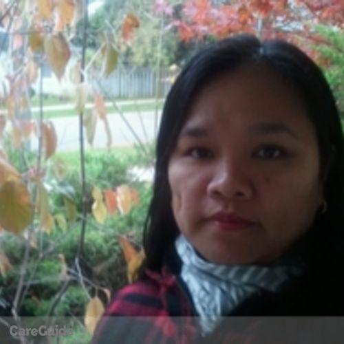 Canadian Nanny Provider Carmelina Lacsina's Profile Picture