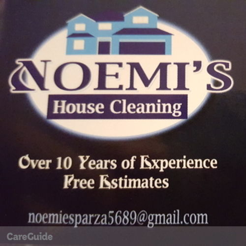 Housekeeper Provider Noemi Esparza's Profile Picture