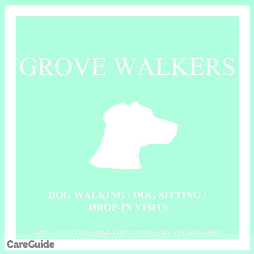 Pet Care Provider Grove Walkers's Profile Picture