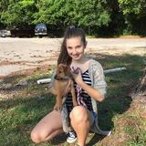 Hi I am Alyssa and I am a pet sitter and dog walker! I will only be working during the weekends though!