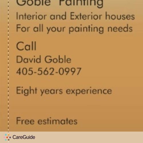 Painter Provider David Goble's Profile Picture