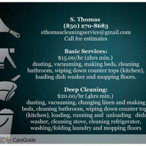 Housekeeper Provider S Thomas's Profile Picture