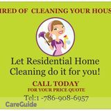 Residential Home/business cleaning