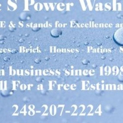 Painter Provider E & S Power Washing Gallery Image 1