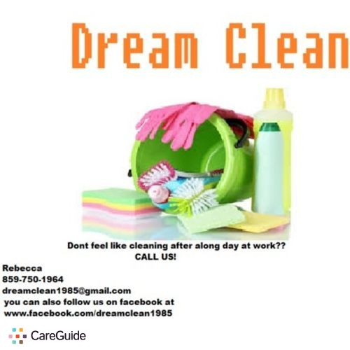 Housekeeper Provider Dream Clean 's Profile Picture