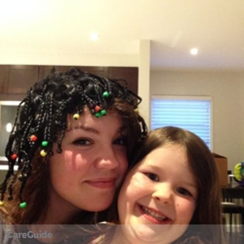 Canadian Nanny Provider Chloe 's Profile Picture