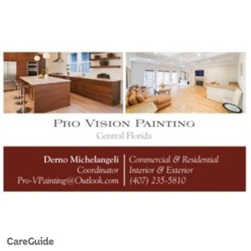 Painter Provider Pro Vision Painting's Profile Picture
