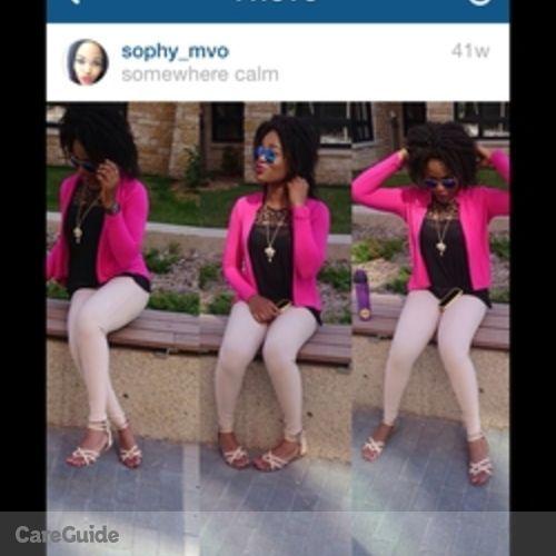Canadian Nanny Provider Sophia Iwu's Profile Picture