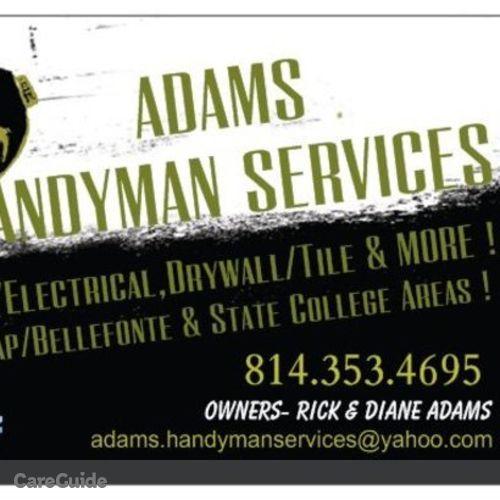 Handyman Provider Rick Adams's Profile Picture