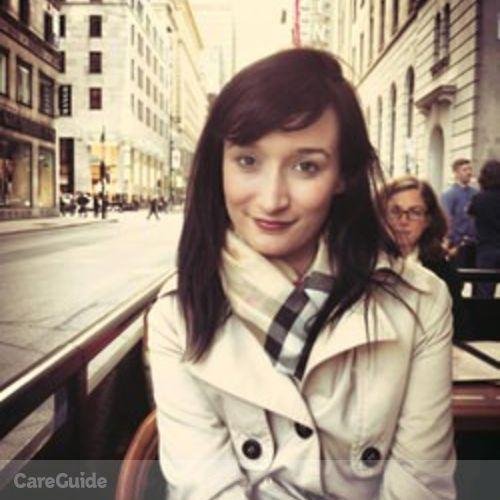 Canadian Nanny Provider Audrey D's Profile Picture