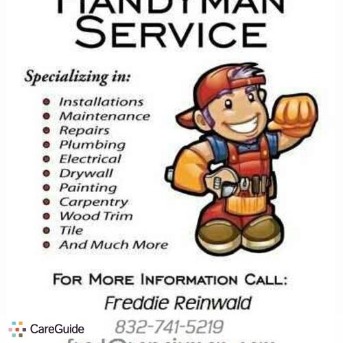 Handyman Provider Freddie Reinwald's Profile Picture