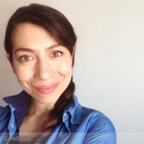Canadian Nanny Provider Alexandra Lipskaia's Profile Picture