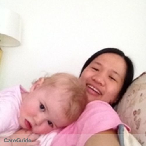 Canadian Nanny Provider Annie Reyes's Profile Picture