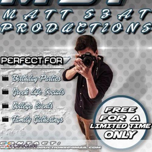 Videographer Provider Matt S's Profile Picture