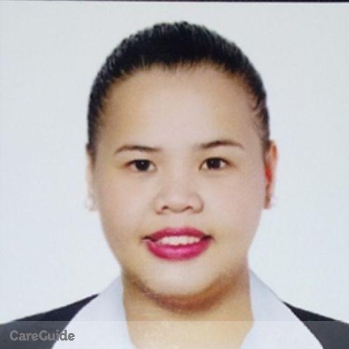Canadian Nanny Provider Brenelle Riza Gonzales's Profile Picture