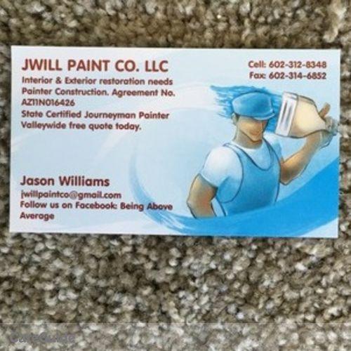 Painter Provider Jason Williams's Profile Picture