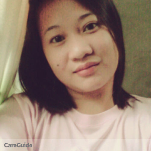 Canadian Nanny Provider Marie Faith Galang's Profile Picture