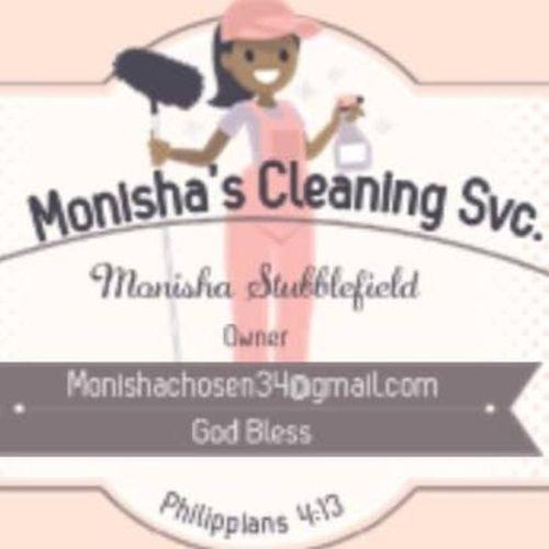 Monisha's Cleaning ServiceProfessional Svc.
