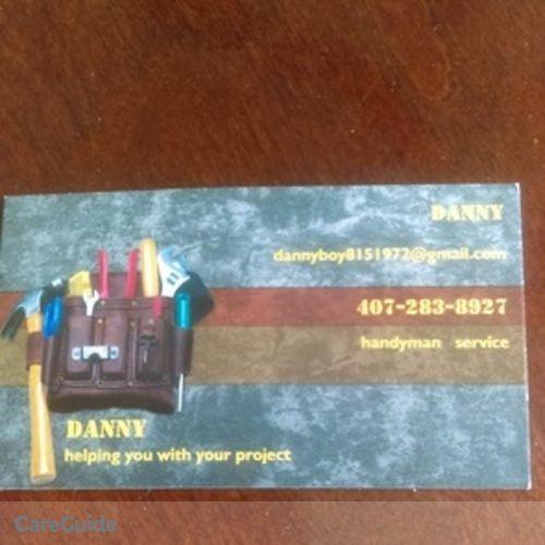 Handyman Provider Danny Rodriguez's Profile Picture
