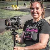 Glidecam Gal, I am a videographer who has been behind the camera for 27 years. I love what I do and have fun while we're shoo