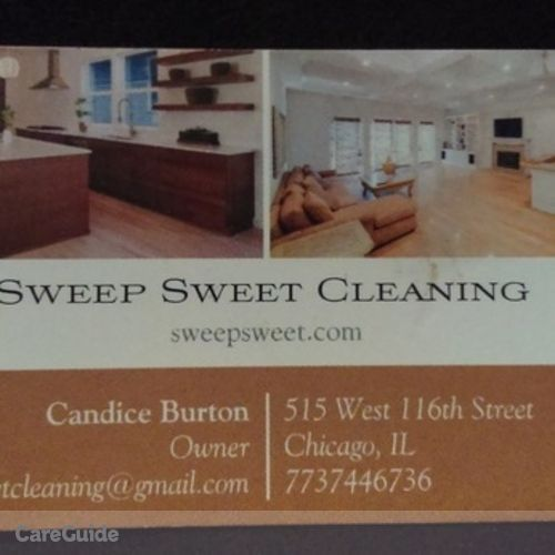Housekeeper Provider Candice Burton's Profile Picture